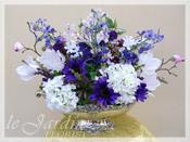 Silk Flower Arrangement by Le Jardin Florist