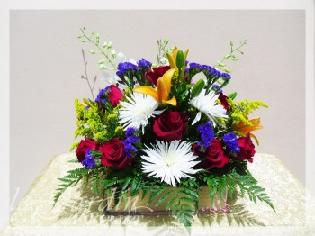 Book Love Flower Arrangement | Le Jardin Florist