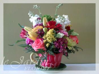 Happy Summer Flower Arrangement | Le Jardin Florist