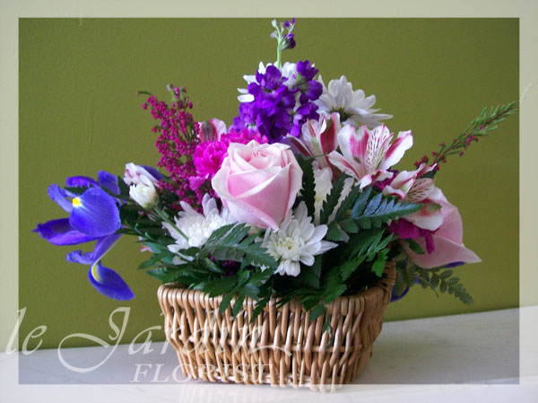 sweet sixteen flower arrangement le jardin florist