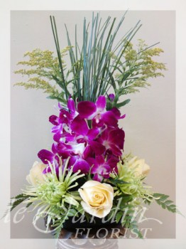 Vesuvio Flower Arrangement | Le Jardin Florist