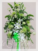 Remembrance Funeral Flower Arrangement | Le Jardin Florist