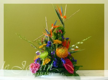Tropical Fantasy Flower Arrangement
