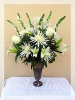 Mont-Blanc Funeral & Sympathy Flower Arrangement | Le Jardin Florist