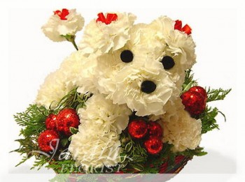Terry the Terrier - Flower Arrangements for Kids   Le Jardin Florist