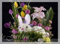 Bugsy the Bunny - Flower Arrangements for Kids | Le Jardin Florist