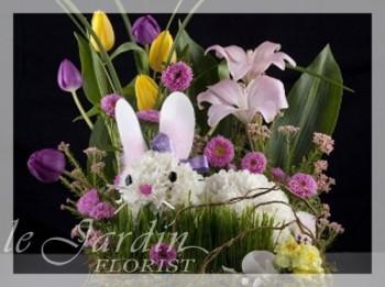 Bugsy the Bunny - Flower Arrangements for Kids | Le Jardin Florist