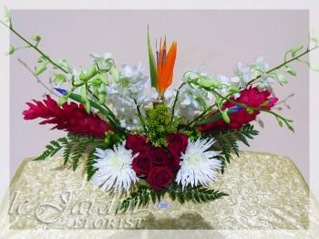 Secret Love Flower Arrangement - a Le Jardin Florist Signature Floral Arrangement