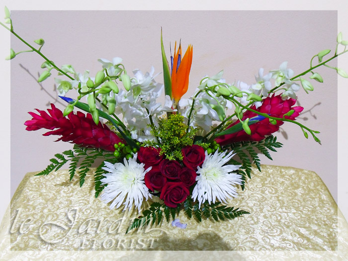 Secret love flower arrangement le jardin flower shop for Arrangement jardin