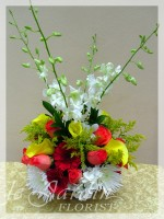 Juicy Colors Flower Arrangement | Le Jardin Florist - North Palm Beach Flowers