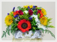Radiant Love Flower Arrangement - a Le Jardin Florist Signature Floral Arrangement