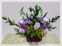 Le Parisiene Flower Basket by Le Jardin Florist - North Palm Beach Flowers