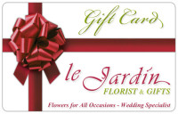 Gift Cards at Le Jardin Florist