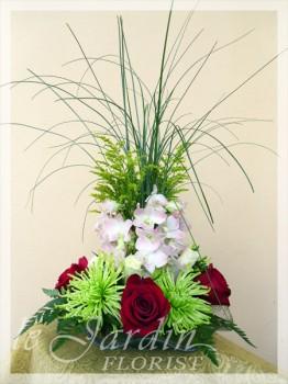 Vesuvio II Flower Arrangement - a Le Jardin Florist Signature Floral Arrangement